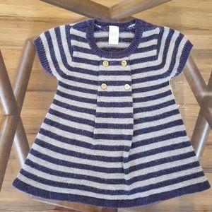 Gap infant sweater dress, size
